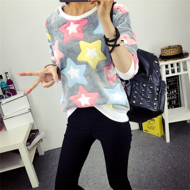Spring Stars Sweatshirt - Aesthetic Outfits