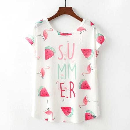 Summer Style T-shirt - Aesthetic Outfits