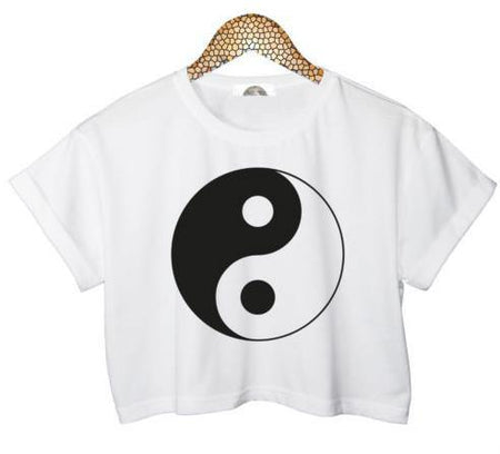 Tai Chi Crop Top - Aesthetic Outfits