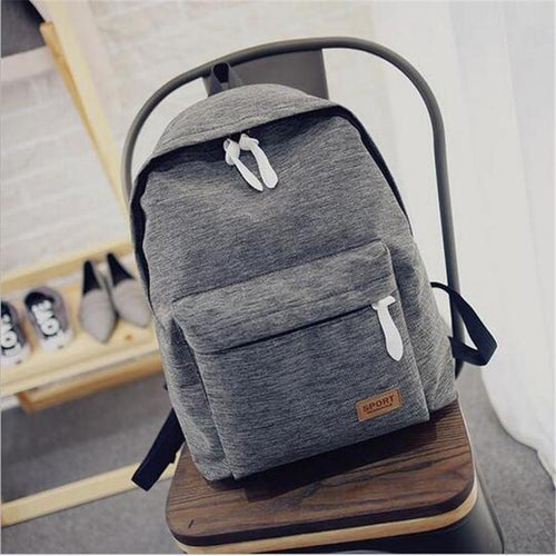 Travel Canvas Backpacks - Aesthetic Outfits