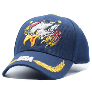 USA Eagle Embroidery Cap - Aesthetic Outfits