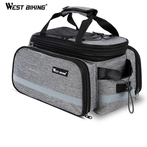Waterproof Bike Pannier & Rack Trunk - Aesthetic Outfits