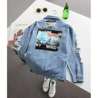 Where is My Mind Denim Jacket - Aesthetic Outfits