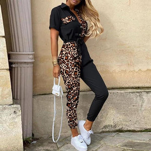 Women Casual Solid Color Jumpsuit - Aesthetic Outfits