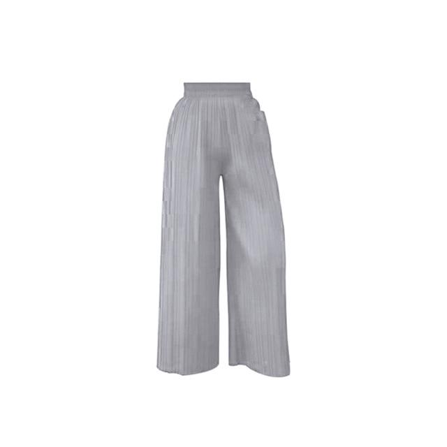 Women Chiffon Loose Pants - Aesthetic Outfits