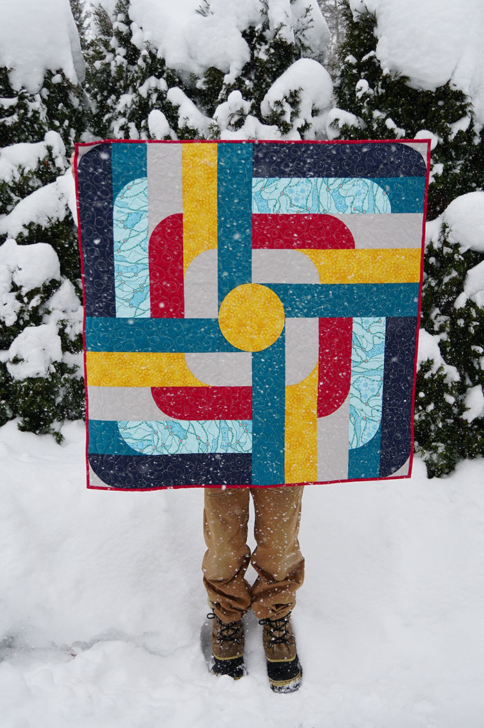 Spinoff Quilt Pattern (PDF)