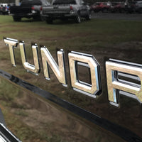 Toyota Tundra Tailgate Letter Inserts