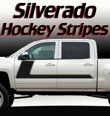 Chevy/GMC Sierra/Sanoma Hockey Stripes 2003-2018