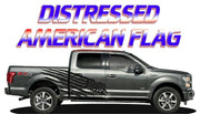 F150 Distressed American Flag - Fits Any Year