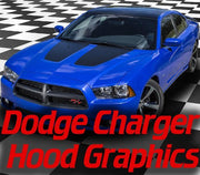 dodge charger hood blackout decal