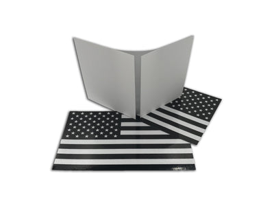 Reflective American Flag Stickers
