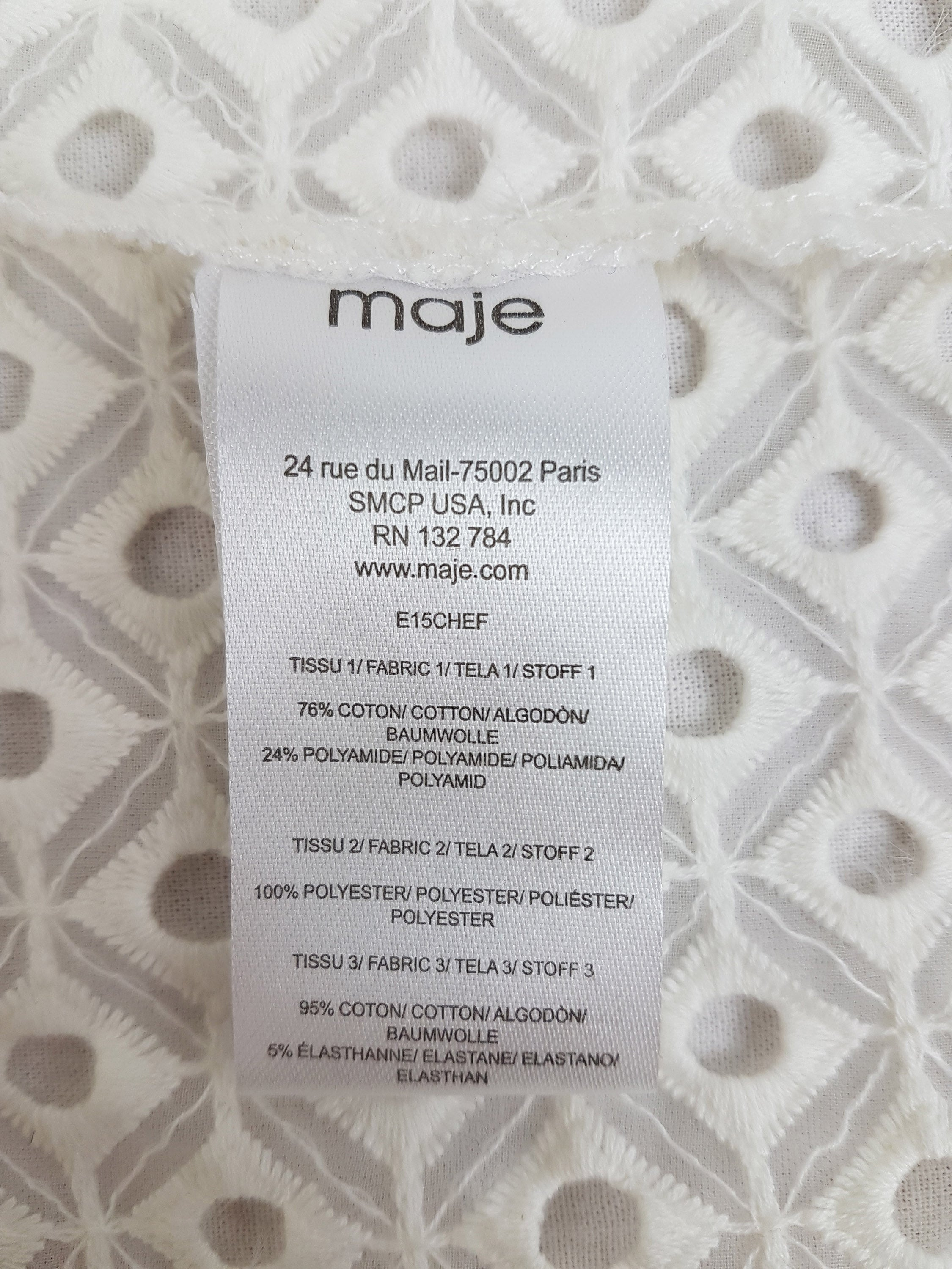 Blouse Maje – Boutique Popeline -  Friperie, Seconde main & Consignation - Montréal, Plateau Mont-Royal