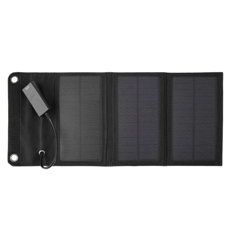FOLDABLE SOLAR POWERED MOBILE CHARGER
