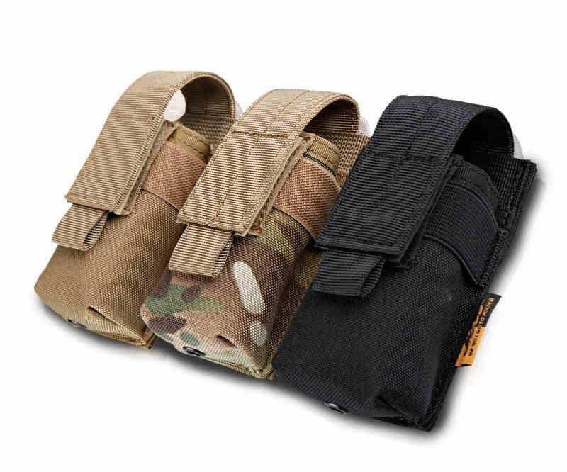 MOLLE TACTICAL FLASHLIGHT HOLSTER