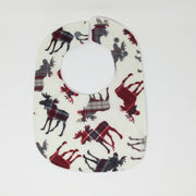Rambling Moose Traditional Bib