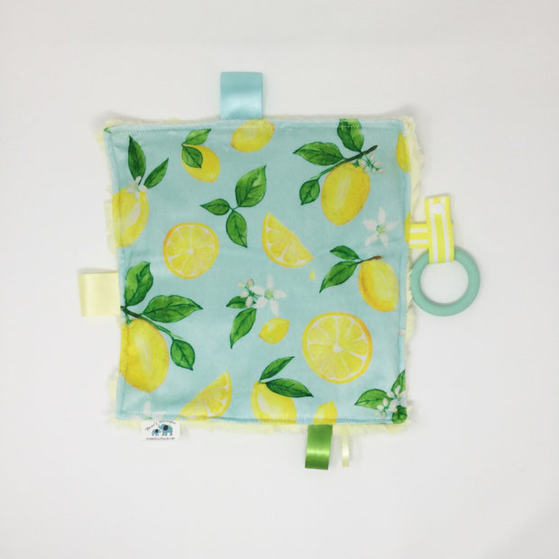 Lemon Teething Blanket
