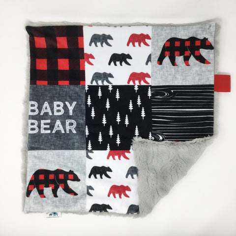 Baby Bear Lovey Blanket