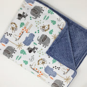 Mighty Jungle Minky Blanket