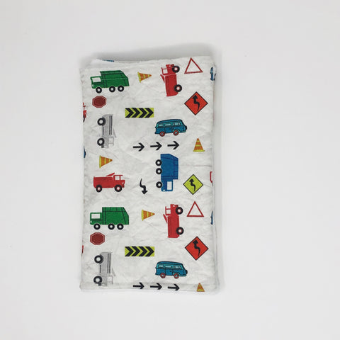 Trucks Burp Cloth