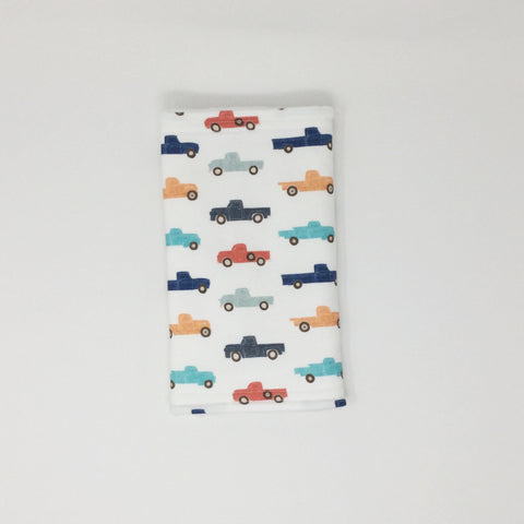 Vintage Truck Burp Cloth
