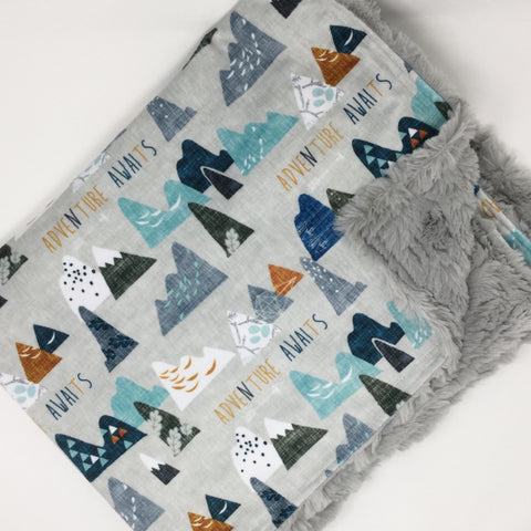 Adventure Awaits Luxe Blanket
