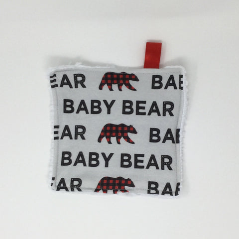 Baby Bear Washcloth