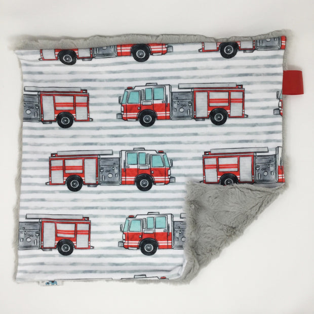Fire Truck Lovey Blanket