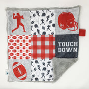 Football Lovey Blanket