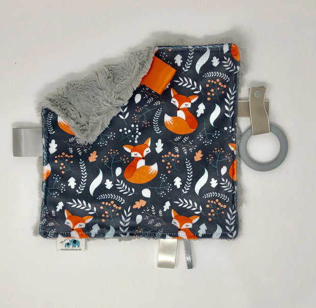Fox Luxe Teething Blanket