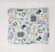 Mighty Jungle Swaddle Blanket