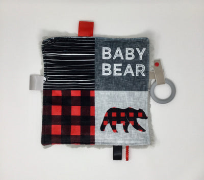 Baby Bear Luxe Teething Blanket