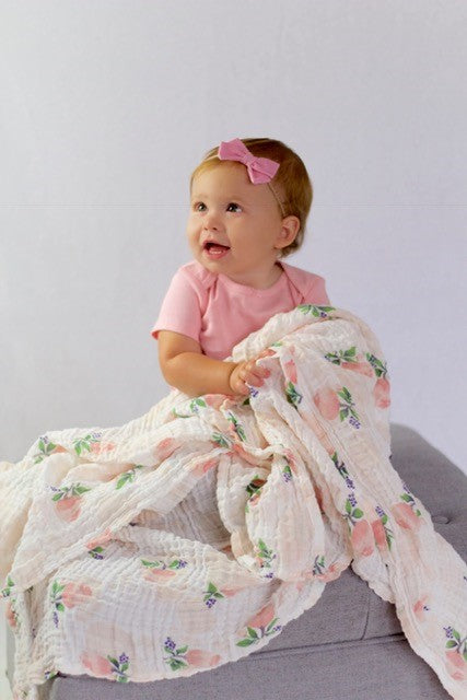 Rose Swaddle Blanket