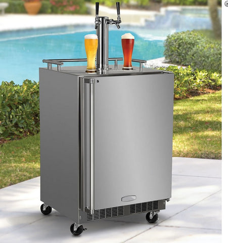 Beer Lovers Refrigerated Outdoor Tap