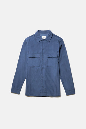 Load image into Gallery viewer, Workwear Cord L/S Shirt - Slate