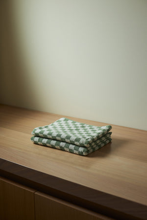 Load image into Gallery viewer, Josephine Organic Cotton (Hand) Towel - Sage and Chalk