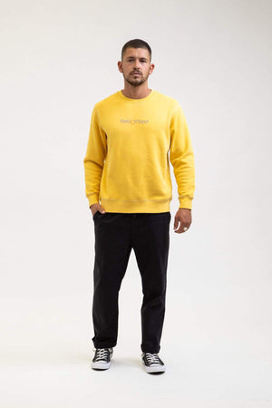 Sound Vintage Fleece Crew - Vintage Gold
