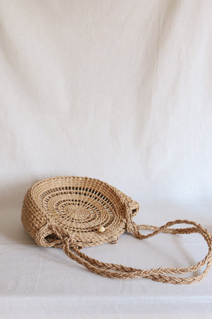 Load image into Gallery viewer, Tiki Beach Bag - Straw