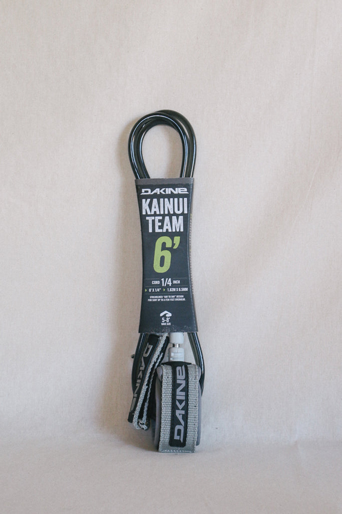 Kainui Team 6' Leash - Carbon