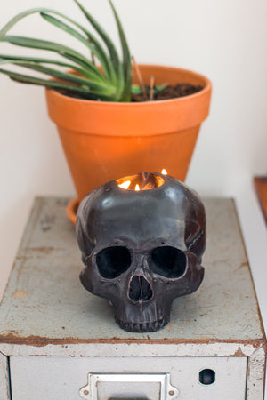 Load image into Gallery viewer, Skull Candle