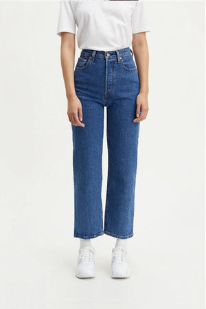 Ribcage Straight Ankle Jeans - Georgie