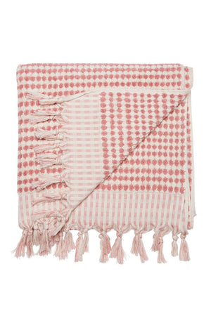 Cresent Towel - Dusty Pink