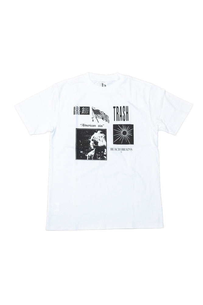 Patches Tee - White