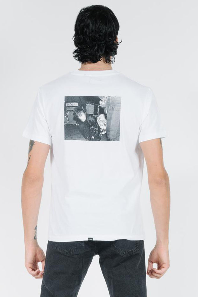 Lux Merch Fit Tee - Vintage White