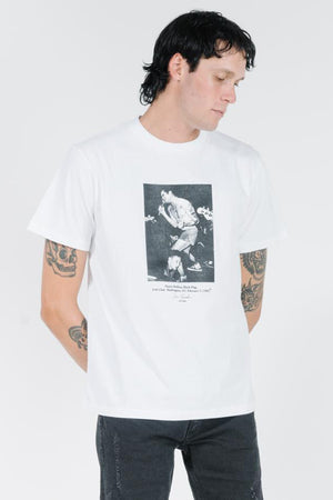 Henry Merch Fit Tee - Vintage White
