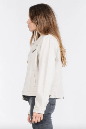 Marlow Jacket - Dirty White