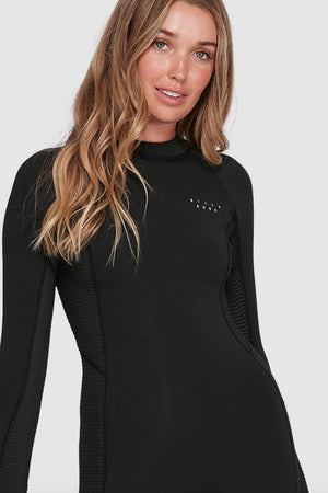 Load image into Gallery viewer, Spring Fever 2mm Long Sleeve Springsuit Black
