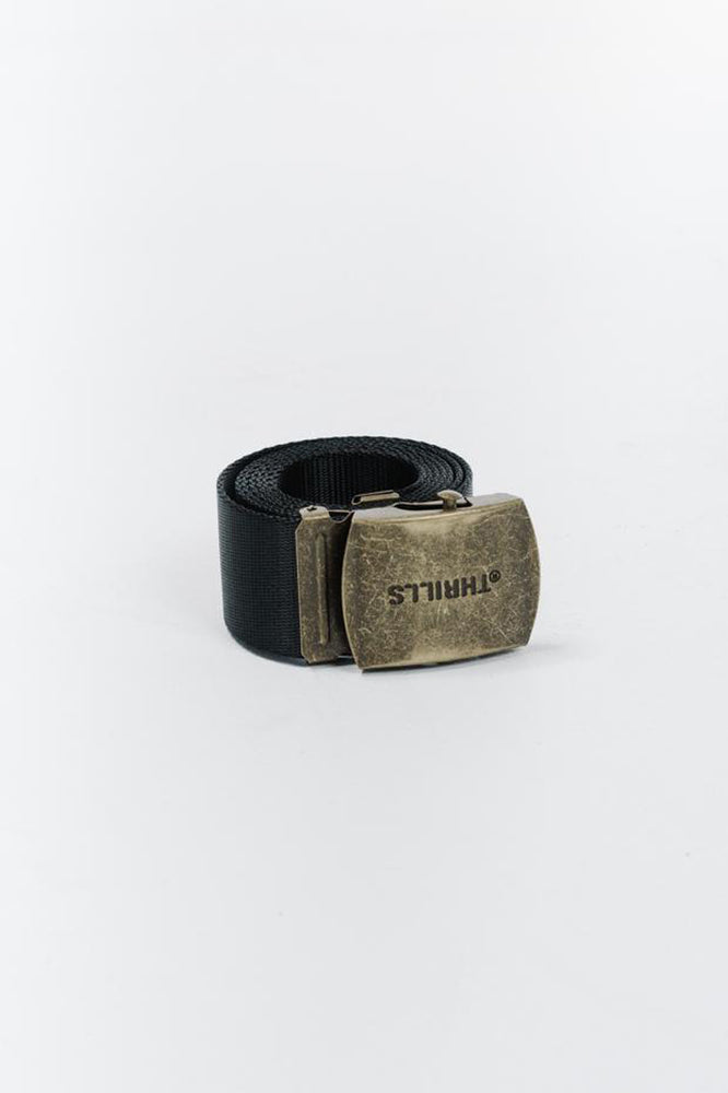 Division Belt - Faded Black