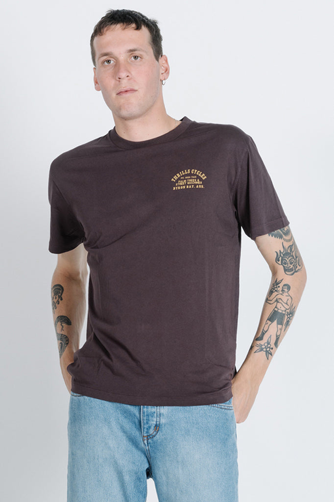 Cut The Brakes Merch Fit Tee - French Roast
