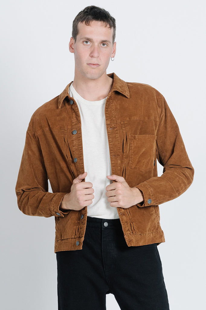 REC Jacket - Mustang Brown