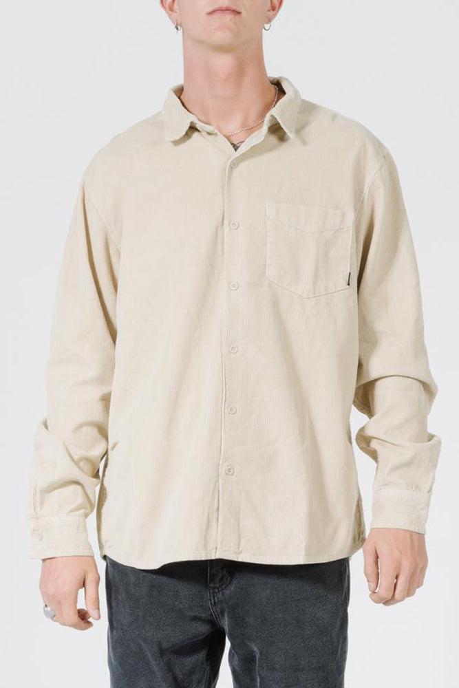 Load image into Gallery viewer, Clear Light Long Sleeve Shirt - Thrift White